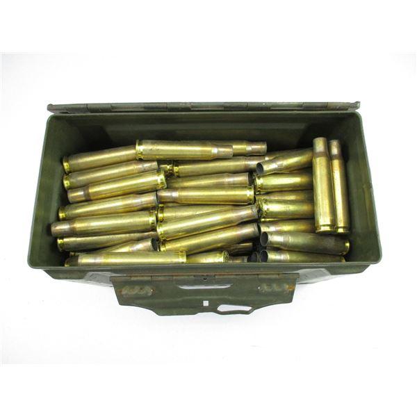 ASSORTED .50 BMG, BRASS CASE LOT