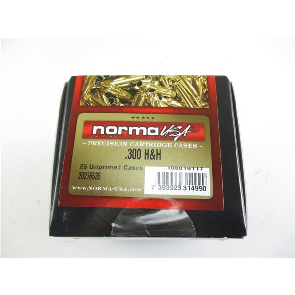 .300 H&H, NORMA BRASS CASES