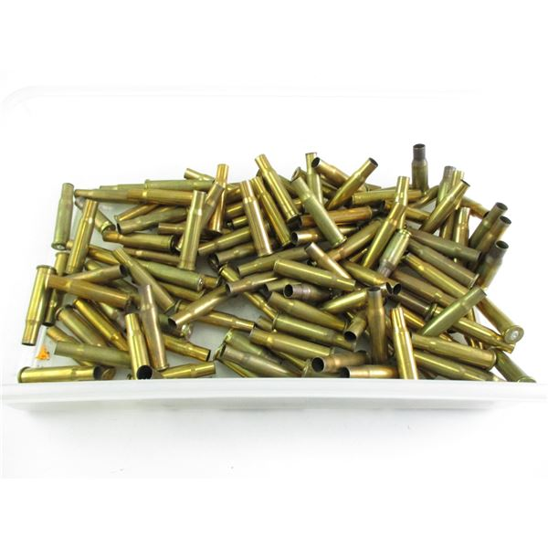 ASSORTED 30-30 BRASS CASE LOT, MAY CONTAIN SOME 7MM