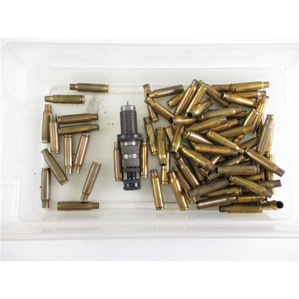 .308 WIN BRASS CASES, AND HERTER DIE