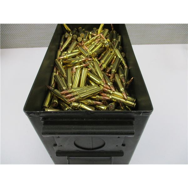 .223 CAL BULLET AND BRASS CASE LOT