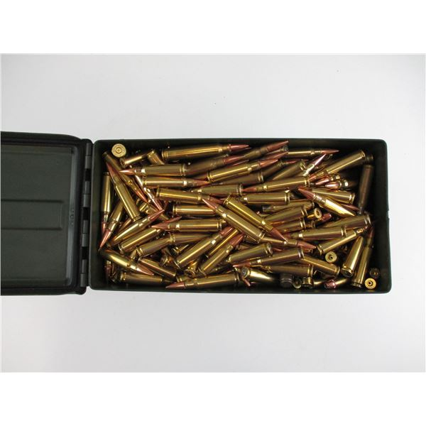 ASSORTED BULLET AND BRASS CASE LOT