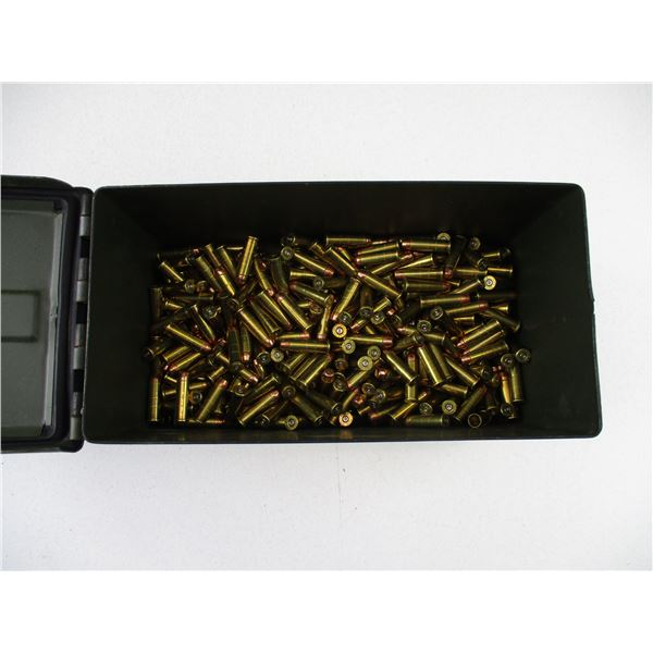 ASSORTED .38 SPECIAL, BULLET AND BRASS CASE LOT
