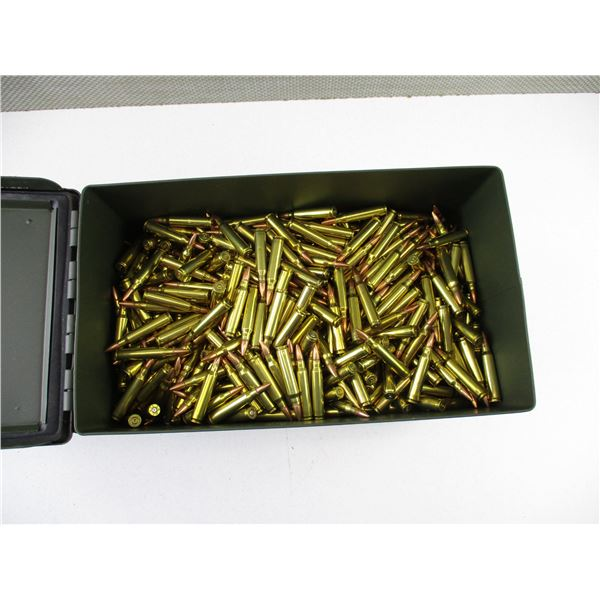 ASSORTED .223 BRASS AND BULLET LOT