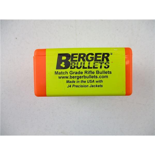 6.5MM, BERGER BULLETS