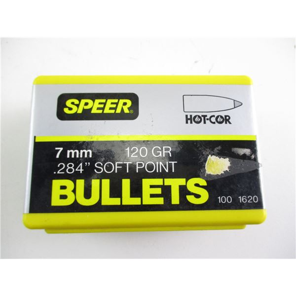 7MM, SPEER BULLETS