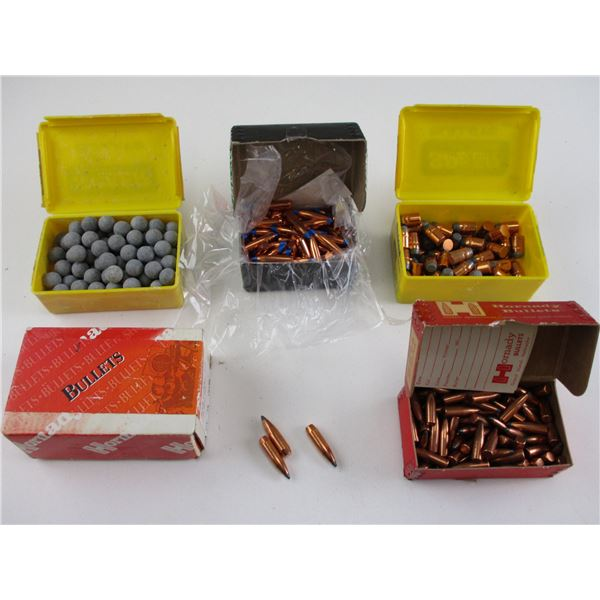 ASSORTED BULLET AND RND BALL LOT