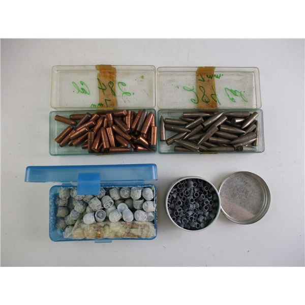 ASSORTED BULLET AND PELLET LOT