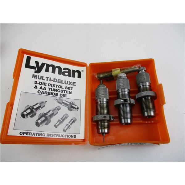 .380 AUTO, LYMAN RELOADING DIES
