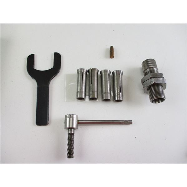 RCBS BULLET PULLER WITH COLLETS