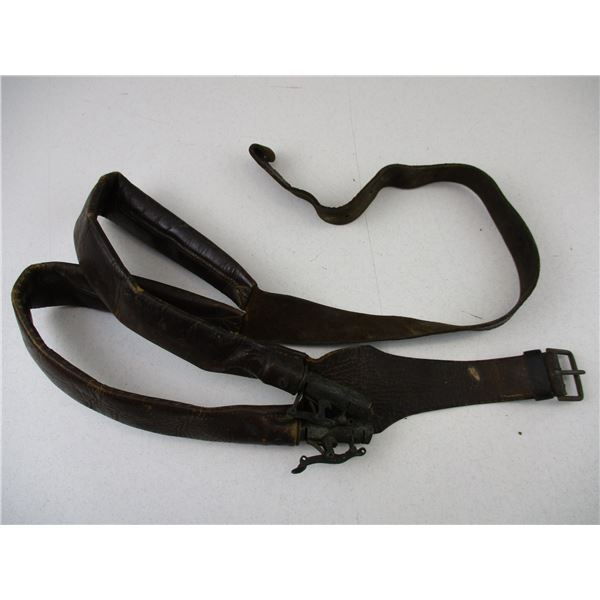 LEATHER SHOT, ACROSS BODY CARRIER