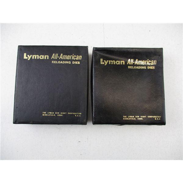 ASSORTED LYMAN RELOADING DIE LOT