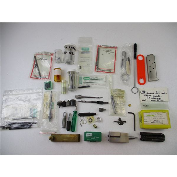 ASSORTED RELOADING PARTS LOT