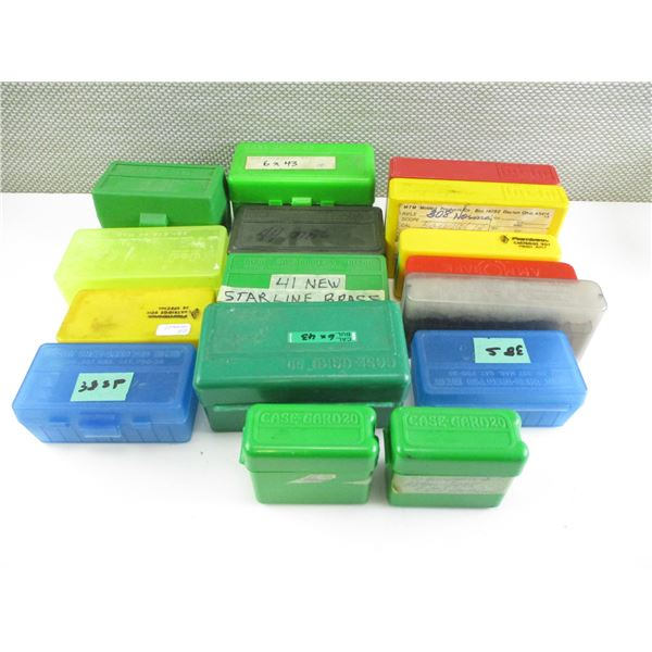 PLASTIC AMMO CONTAINERS