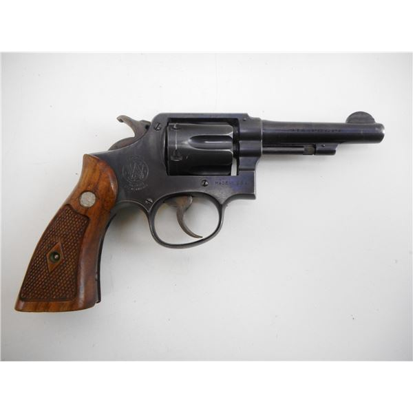 SMITH & WESSON , MODEL: HAND EJECTOR 38 MILITARY & POLICE POSTWAR  , CALIBER: 38 SPECIAL