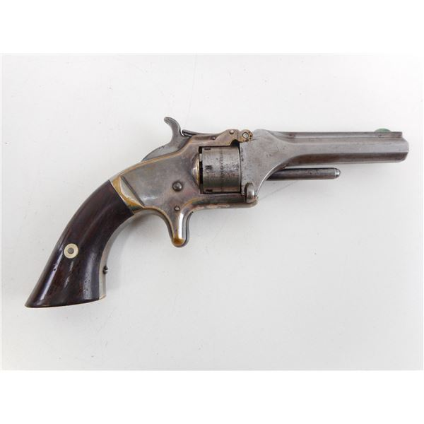 SMITH & WESSON , MODEL: TIP UP 22 NO 1 ISSUE 2 , CALIBER: 22 SHORT