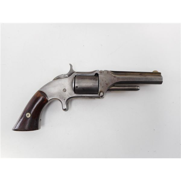SMITH & WESSON  , MODEL: TIP UP 32 NO  1 1/2 ISSUE 1 OLD MODEL  , CALIBER: 32 RIM FIRE