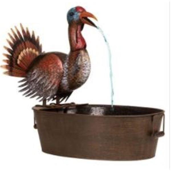 Bobbing Turkey Fountain