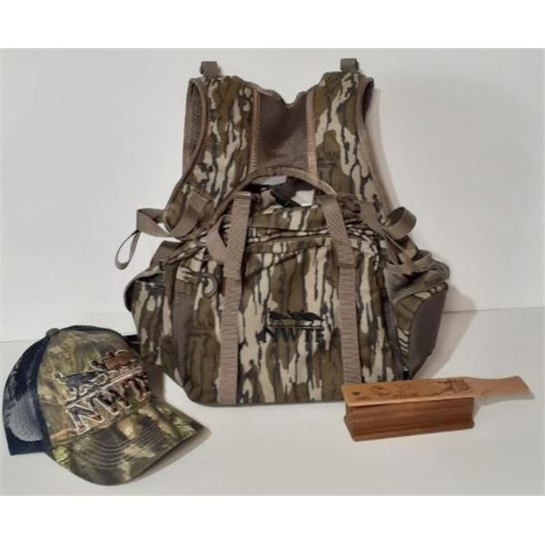 Little Bear Pack, Zink box call and NWTF Hat