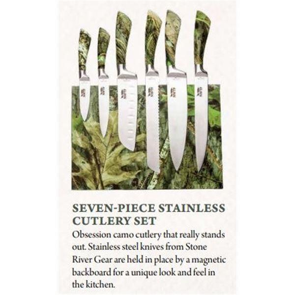 NWTF- Camo cutlery set