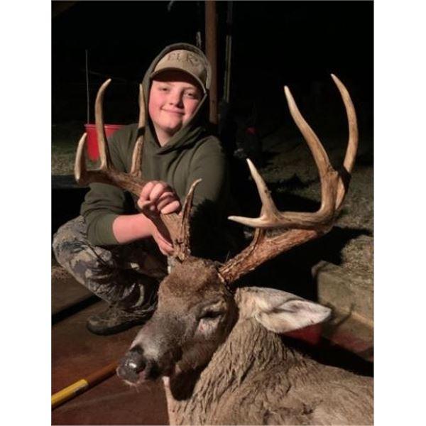 Oklahoma Rifle Whitetail plus Hog Hunt