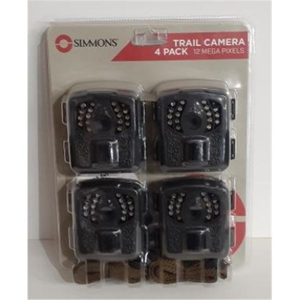Simmons Trail Camera 4 Pack