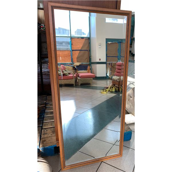 Full Length Rectangular Mirror 24x54 from Four Seasons Resort Lanai (decomissioned during one of the