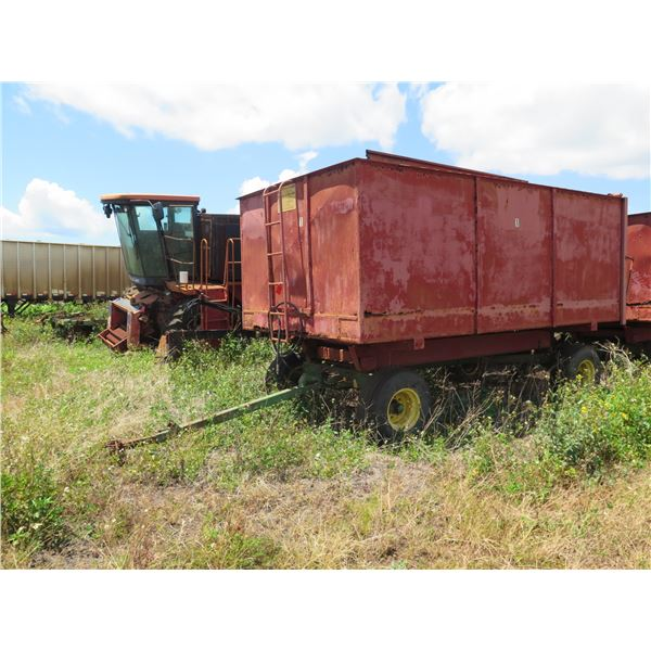 Hinicker Peanut Wagon, Has Rust, Has Not Been Moved in Years)