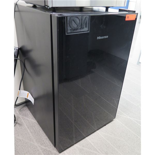 Hisense Black Mini-Fridge Refrigerator