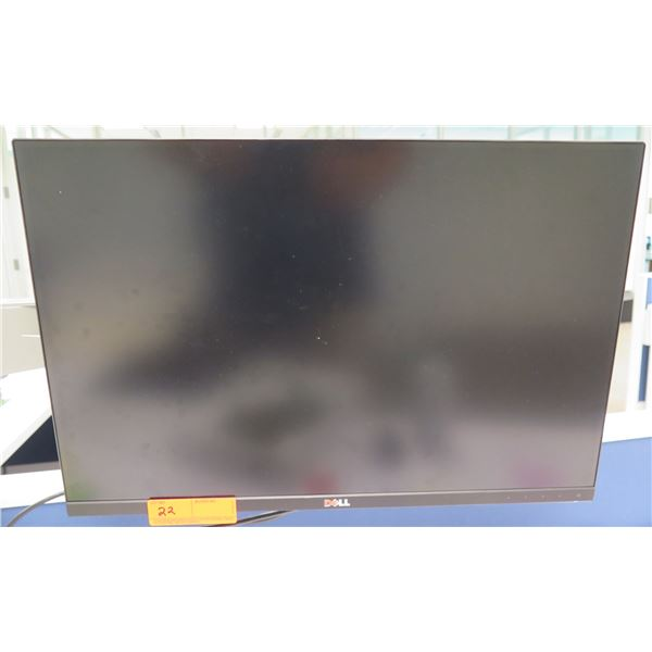 HP Flat Screen 24  LCD Display Computer Monitor (does not include brackets and mounting arm shown at