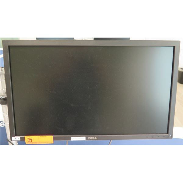 Dell Flat Screen Computer Monitor E2216H (does not include brackets and mounting arm shown attached