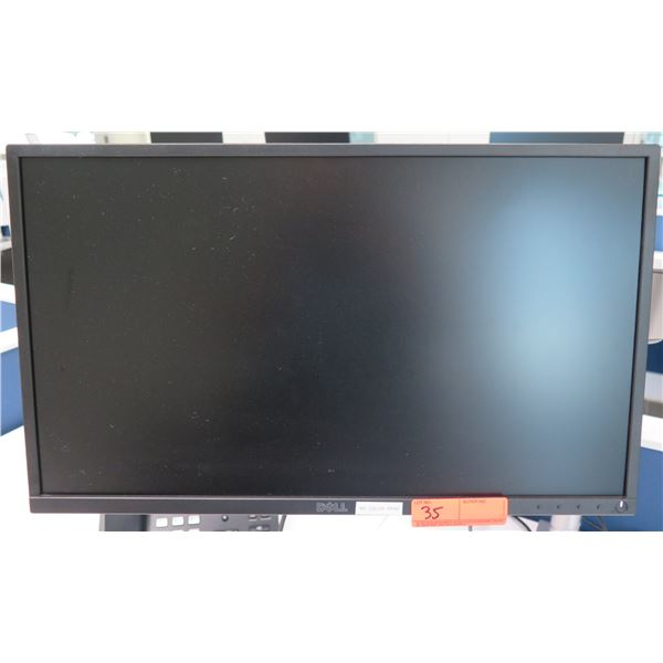 Dell Flat Screen Computer Monitor P2417H (does not include brackets and mounting arm shown attached