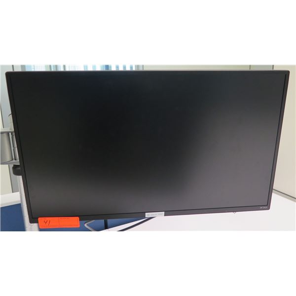 """HP Flat Screen 24"""" LCD Display Computer Monitor (does not include brackets and mounting arm shown at"""
