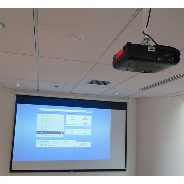 Epson EX9220 Overhead Computer Projector (No Ceiling Mount)