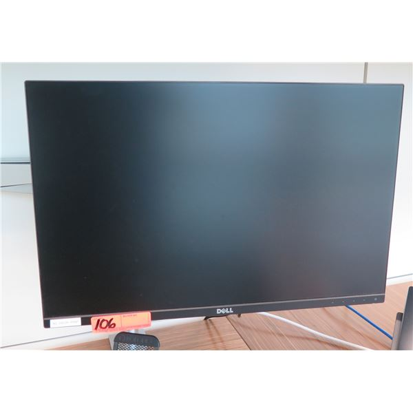 Dell Flat Screen LCD Computer Monitor (does not include brackets and mounting arm shown attached to