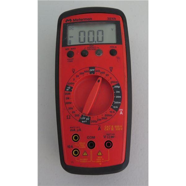 Meterman 30XR True RMS LCD Digital Multimeter