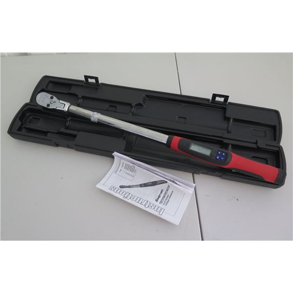 Snap-On Tools TechWrench Electronic Torque Wrench 25-250 Ft Lb. in Hard Case
