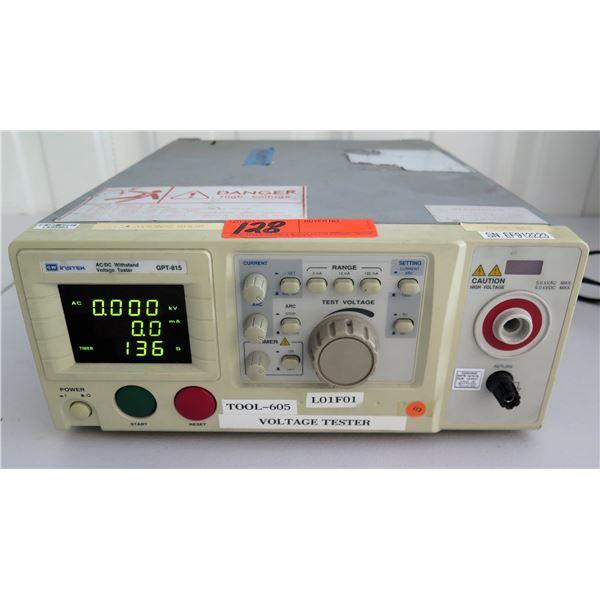 GW Instek AC/DC Withstand Voltage Tester GPT-815