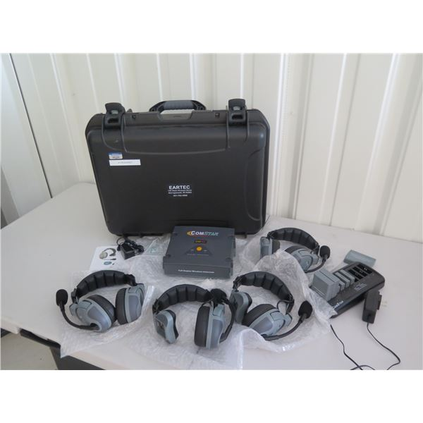 EarTech Comstar Wireless Conference System w/ 4 Headphones