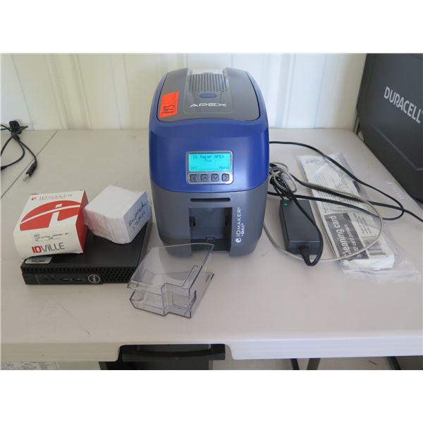 IDville ID Card Maker Printer (Tested, Works)