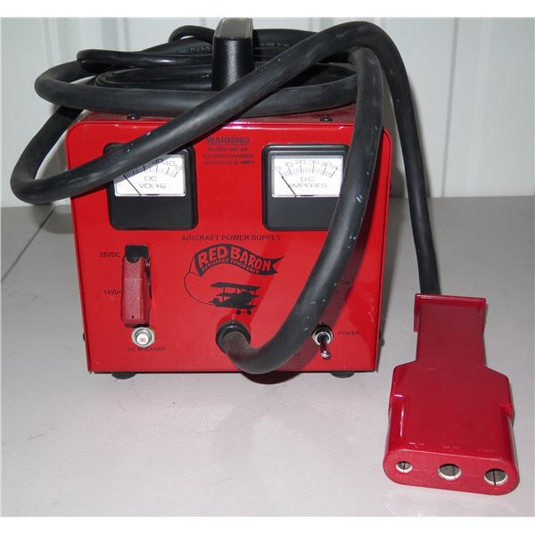 Red Baron Aircraft Power Supply, 14VDC and 28VDC