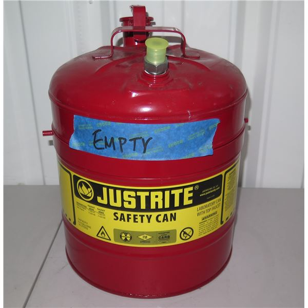 Justrite Safety Can