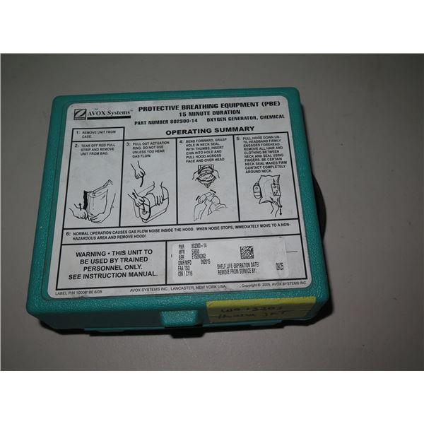 Avox Protective Breathing Equipment Kit