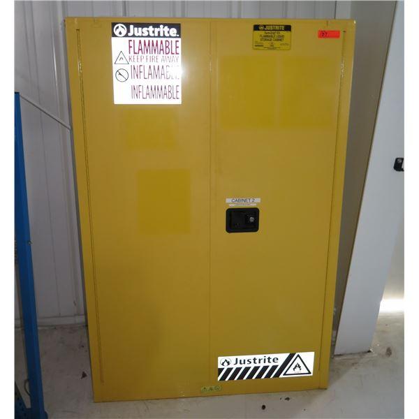 Justrite Sure-Grip EX Flammable Liquid Storage Cabinet, 45-Gallon Capacity