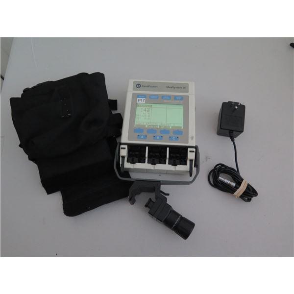 Medsystem III 2865B Infusion Pump w/ Case & AC Adapter