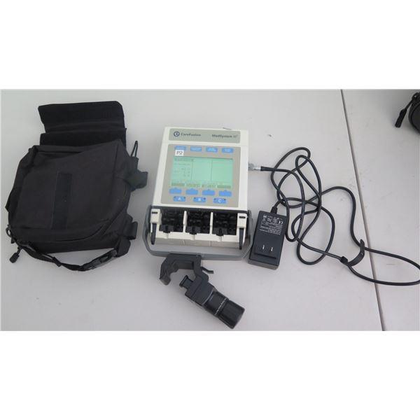 Medsystem III 2865B Infusion Pump w/ AC Adapter