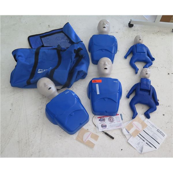 CPR Prompt Training Mannequins