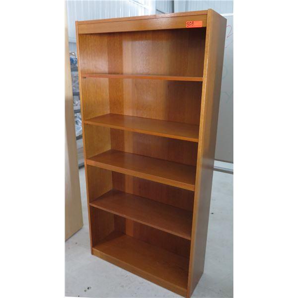 Wooden Adjustable 5 Tier Shelf