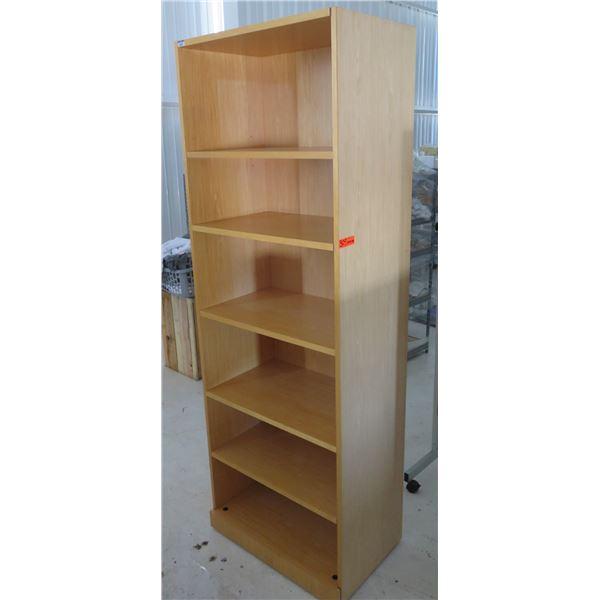 "Wooden 6 Tier Shelf 30""x19""x86""H"