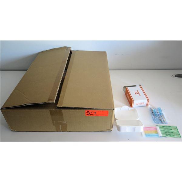"""Box of 60 """"HEAL"""" Aid Crew Emergency Aid Kits"""